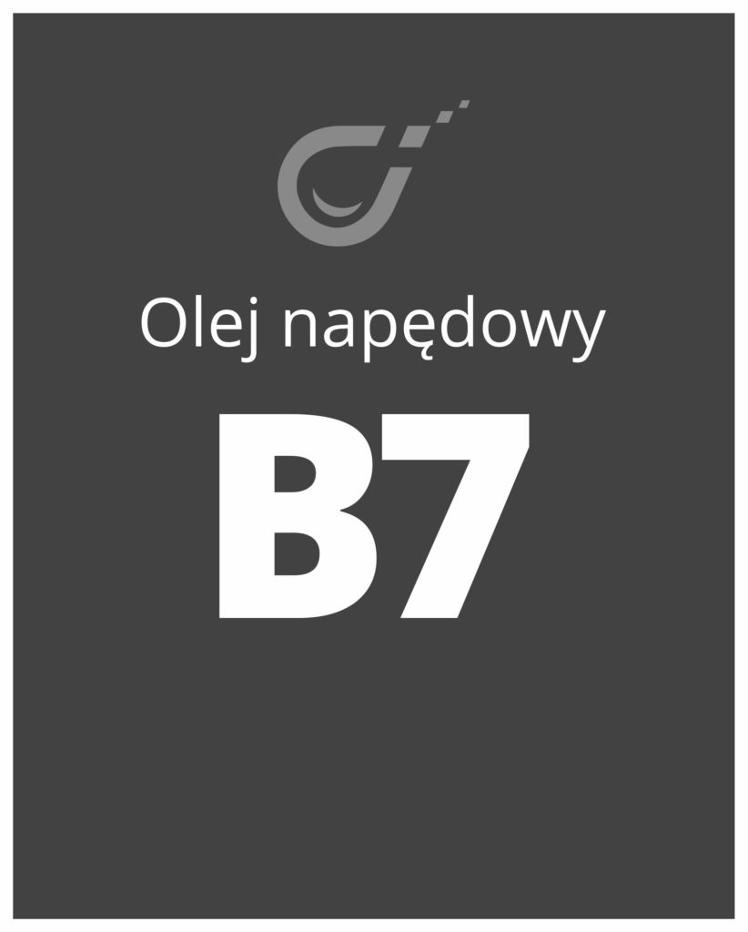 olej napędowy b7