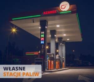 własne stacje paliw